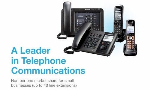 Panasonic is the World Leader in IP Telephone Systems - Learn more at Panasonic-America.com
